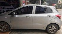 Cần bán xe Hyundai Grand i10 sản xuất năm 2014, màu bạc, xe nhập