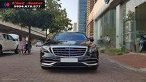 Bán Mercedes-Benz S450 Maybach màu đen nội thất kem, xe sản xuất 2017, đăng ký lần đầu 4/2018 tên Công ty