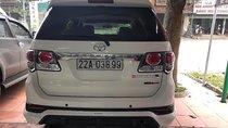 Bán Toyota Fortuner đời 2015, màu trắng, nhập khẩu