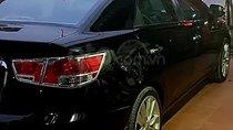 Bán ô tô Kia Cerato 1.6 sản xuất 2009, màu đen, xe nhập, số tự động