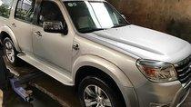 Bán Ford Everest 2.5L 4x2 MT sản xuất 2011, màu bạc, xe gia đình sử dụng còn rất mới