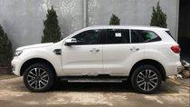 Bán Ford Everest Titanium 4x2 đời 2018, màu trắng, nhập khẩu nguyên chiếc