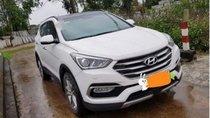 Cần bán xe Hyundai Santa Fe 2.2L 4WD năm 2018, màu trắng số tự động