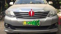 Cần bán gấp Toyota Fortuner sản xuất năm 2014, màu bạc chính chủ, giá tốt