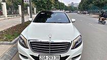 Chính chủ bán xe Mercedes S500L đời 2014, màu trắng, nhập khẩu