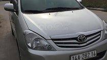 Cần bán lại xe Toyota Innova G đời 2010, màu bạc