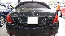 Bán Mercedes S500L sản xuất 2015, màu đen, xe nhập số tự động