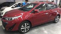 Bán xe Toyota Yaris 1.5G CVT 2018, màu đỏ, nhập khẩu