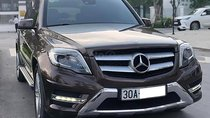 Bán xe Mercedes GLK 250 đời 2014, màu nâu