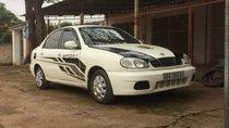Cần bán xe cũ Daewoo Lanos MT sản xuất 2003, màu trắng, giá tốt