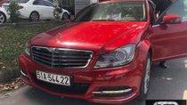 Cần bán Mercedes C250 2.0 AT sản xuất năm 2013, màu đỏ