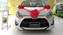 Bán Toyota Wigo 1.2G MT năm sản xuất 2018, màu bạc, nhập khẩu nguyên chiếc