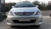 Cần bán Toyota Innova G sản xuất 2012, màu bạc, xe gia đình, giá 495tr
