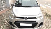 Cần bán Hyundai Grand i10 1.0MT đời 2014, màu bạc, nhập khẩu, giá tốt