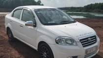 Bán xe Gentra SX 1.5 sản xuất năm 2008, số tay, máy xăng, màu trắng, đã đi 98000 km