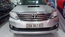 Cần bán Toyota Fortuner G năm 2013, màu bạc