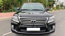 Bán Lexus LX 570 năm sản xuất 2012, màu đen, nhập khẩu
