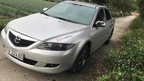 Gia đình bán xe Mazda 6 Sx 2003, màu bạc, xe đẹp, nội ngoại thất sạch sẽ, máy êm, mâm đúc