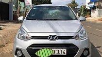 Bán Hyundai Grand i10 1.0 MT năm sản xuất 2015, màu bạc, đăng kí lần đầu tháng 11/2016, nhập Ấn Độ