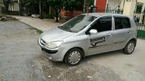Cần bán xe Hyundai Getz 1.1 MT đời 2008, màu bạc, nhập khẩu, bản đủ