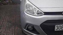 Bán Hyundai Grand i10 màu bạc, đời 2016, xe nhập khẩu, số sàn, điều hòa, đài AM/FM