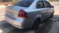 Bán xe Daewoo Gentra SX 1.5, số tay, máy xăng, đời 2010, màu bạc, nội thất da màu kem, đã đi 70000 km
