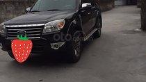 Gia đình bán gấp Ford Everest 2.5L 4x2 MT sản xuất 2012, màu đen, giá chỉ 500 triệu
