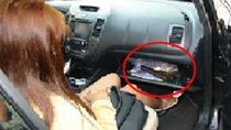 Đi chơi Tết, để 'công cụ hỗ trợ' phòng thân trên xe ô tô có bị phạt?