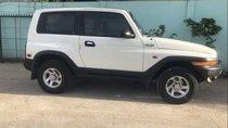 Cần bán lại xe Ssangyong Korando đời 2004, màu trắng, nhập khẩu, 199tr