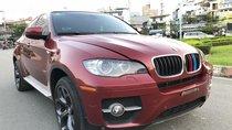 Bán BMW X6 năm sản xuất 2009, màu đỏ, xe nhập khẩu