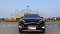 Bán Hyundai Tucson 1.6 AT đời 2018, màu đen như mới, 960tr