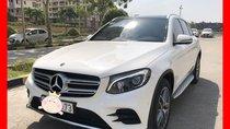 Bán xe Mercedes GLC300 4Matic trắng nâu 2018 cũ chính hãng