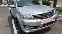 Cần bán gấp Toyota Fortuner AT đời 2016, màu bạc, xe nhập