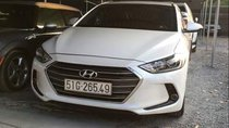 Bán Hyundai Elantra GLS  1.6 MT sản xuất 2016, màu trắng đẹp như mới, 499 triệu