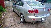 Cần bán lại xe Mazda 3 sản xuất 2004, màu bạc số tự động