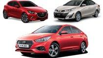 Bảng giá xe hạng B tháng trước Tết: Toyota Vios ưu đãi, Hyundai Accent tăng giá