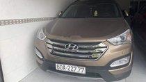 Bán xe Hyundai Santa Fe CRDi sản xuất 2015, màu nâu, nhập khẩu, động cơ 2.2 máy dầu 2 cầu