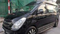 Cần bán Grand Starex H1 Limousine đời 2015 màu đen, 9 chỗ, máy xăng