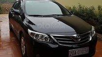 Cần bán gấp Toyota Corolla altis 1.8G MT 2011, màu đen chính chủ