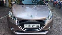 Bán Peugeot 208 đời 2014, màu vàng, xe nhập, 485 triệu