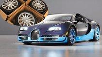 """Thay 4 bánh Bugatti Veyron cũ, chủ xe mất bay chiếc Mercedes """"đập hộp"""""""