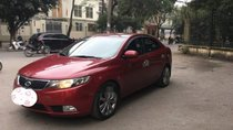 Bán ô tô Kia Forte sản xuất 2011, màu đỏ, gia đình bảo dưỡng định kỳ, số tự động bản đủ