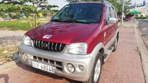 Cần bán lại xe Daihatsu Terios 4x4WD sản xuất 2003, màu đỏ, còn rất đẹp