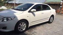Cần bán Toyota Corolla Altis MT đời 2009, màu trắng, xe đẹp