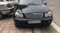 Bán xe Mercedes C200 năm sản xuất 2002, màu đen, xe cực đẹp