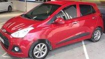 Cần bán Hyundai Grand i10 AT sản xuất 2015, màu đỏ, nhập khẩu nguyên chiếc