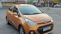 Hyundai i10 1.2, màu cam, nhập khẩu mới như xe trong thùng, giá chỉ 372 triệu