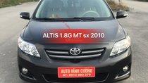 Bán ô tô Toyota Corolla altis 1.8G MT năm sản xuất 2010, màu đen