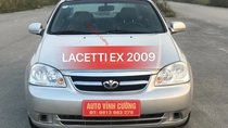 Bán Daewoo Lacetti 1.6EX sản xuất 2009, màu bạc