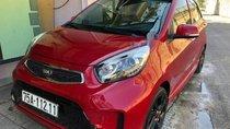 Cần bán Kia Morning AT năm 2017, màu đỏ, ít sử dụng